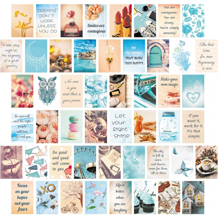 Aesthetic Art Wall Collage Kit